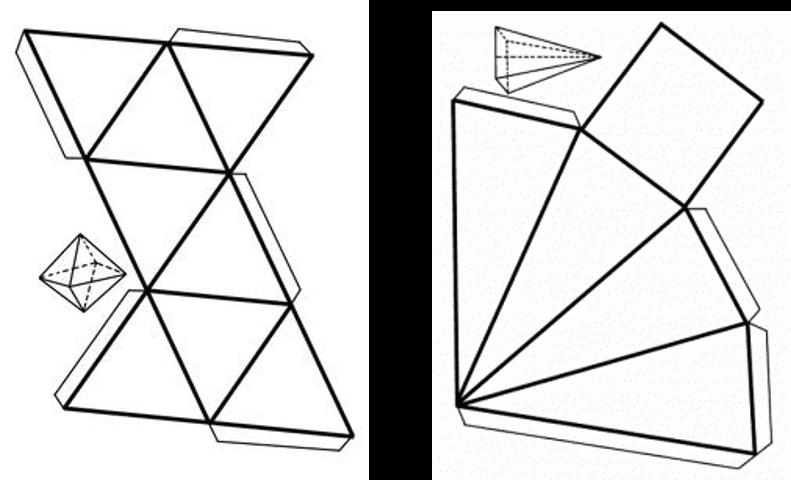 Fundamento te rico 3d geometr a for Sillas para armar y recortar